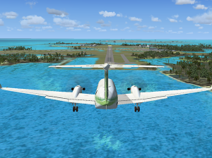 Flight Sim X - Approaching Key West (INTL?)