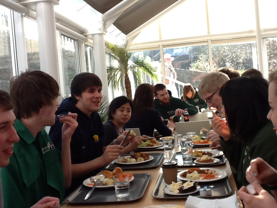 Lunch with Aber, Swansea and Cardiff LINKS