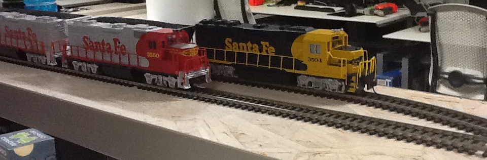 Both santa fe trains