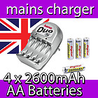 Hama battery charger