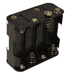 8 AA battery holder